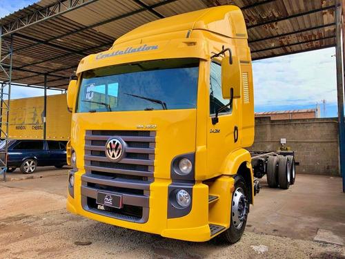 volkswagen vw 24250  constellation truck chassis 6x2 2010