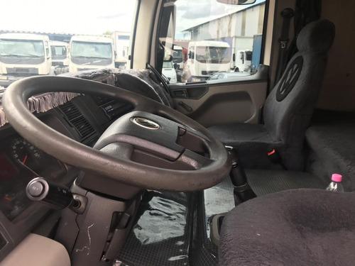 volkswagen vw 24250 leito 2011 bau 10.5 mts trucado