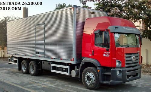 volkswagen vw 24280 6x2 2018 bau