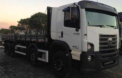 volkswagen vw 24280 bi-truck oportunidade única!!!