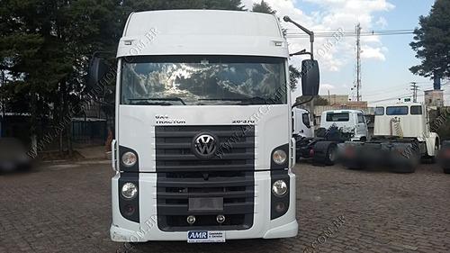 volkswagen vw 26 370 6x4 baixo km entrada + consórcio