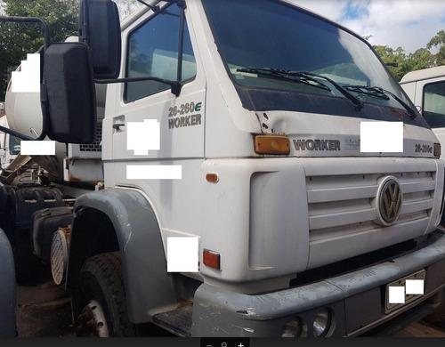 volkswagen vw 26260 6x4 betoneira ano: 2007