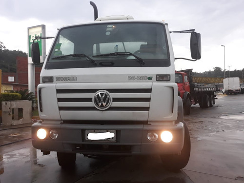 volkswagen vw 26260 betoneira liebherr 2011