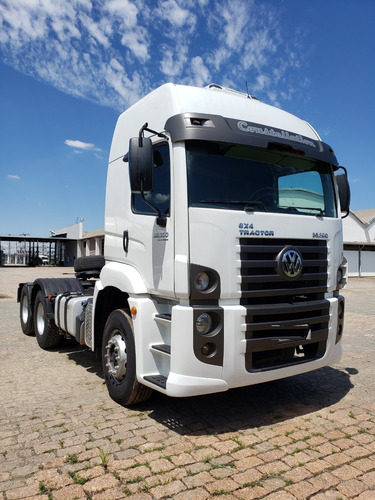 volkswagen vw 26.390 6x4  tractor ano 2013 / financiamos