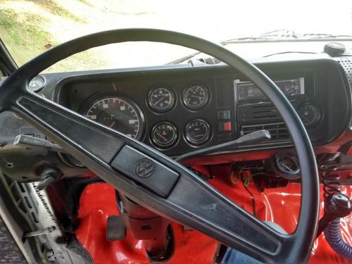 volkswagen vw 6.90  baú 86 caminhão impecável todo revisado