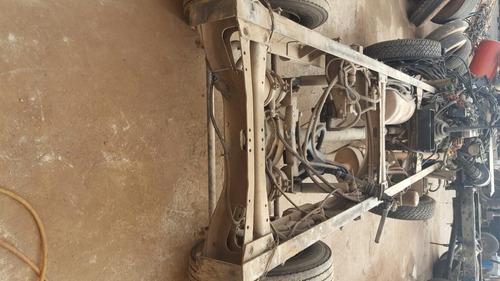 volkswagen vw 8150 2008 sucata retirada de peças sem roda