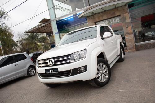 volkswagen vw amarok highline pack 4x4 t-diesel 2016 blanco