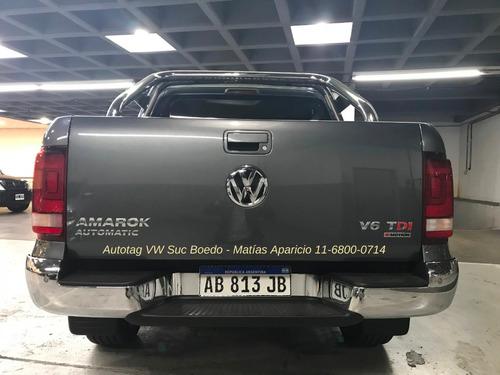 volkswagen vw amarok highline v6 4x4 at 2018 0km 3.0 tdi #a2