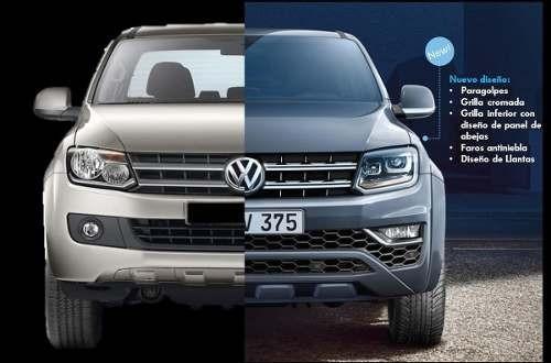 volkswagen vw  amarok nueva comfortline 4x4 at 2017  es