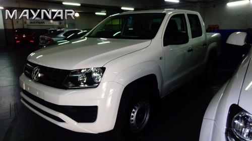 volkswagen vw amarok tremdline adjudicada 2018 0 km blanca