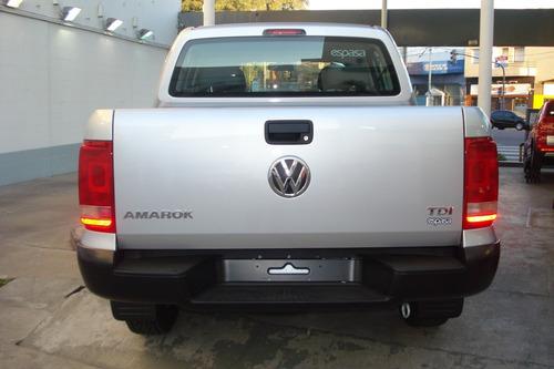 volkswagen vw amarok trendline 4x2 c/d + ll 16  + pack el es