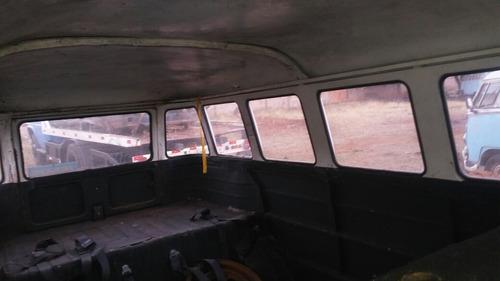 volkswagen vw bus kombi antiga p/ restauração geral samba bu