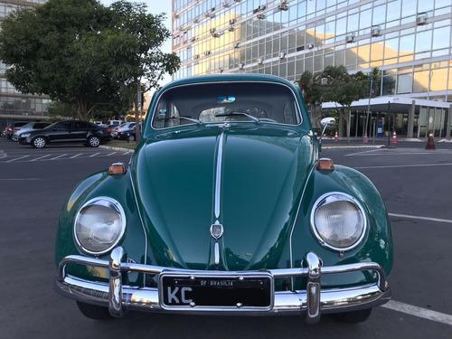 volkswagen vw fusca 1200 verde 1966 placa preta original