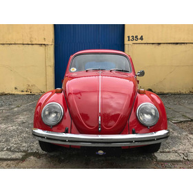 Volkswagen Vw Fusca 1500 1972 Placa Preta
