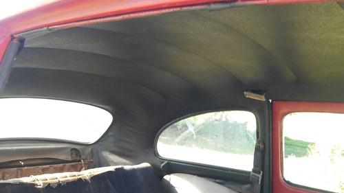 volkswagen vw fusca 1964 sem motor p/ reformar com docks