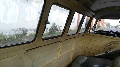 volkswagen vw kombi 1976 boa p/ reformar rodando dock ok