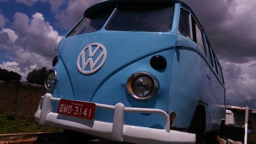 volkswagen vw kombi corujinha samba bus docks ok motor 1600
