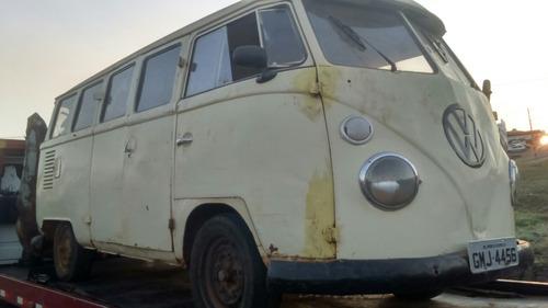 volkswagen vw kombi para restauração otima para samba 1975