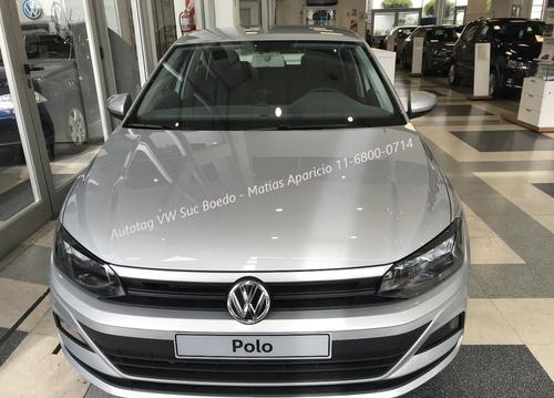 volkswagen vw polo trendline tl mt 1.6 msi 110 2019 0km #a2