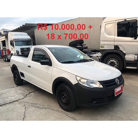 Volkswagen Vw Saveiro 10.000ent+18x700,00 Gm Montana Strada
