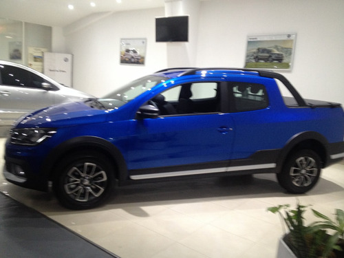 volkswagen vw saveiro cross azul electrica 1.6  rl