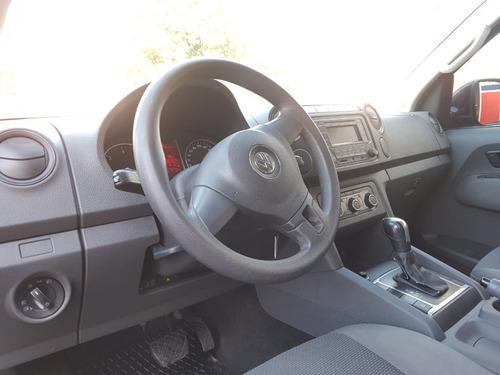 volkwagen amarok 2.0 tdi 180 hp 2013 automatica negro