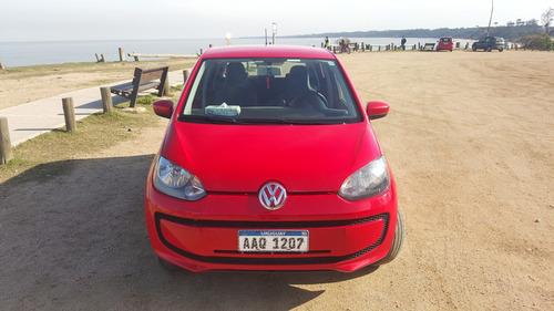 volkwagen up. vw up. move up! 5 puertas. rojo. único dueño.