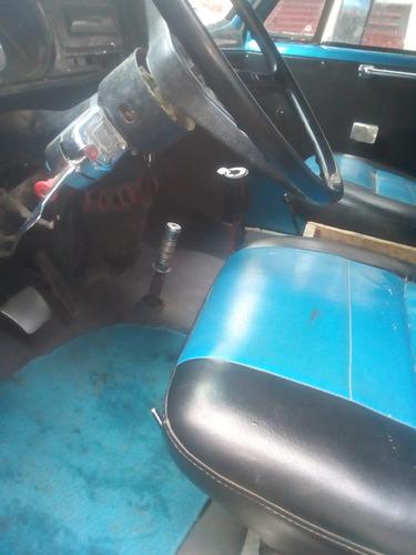 volqueta azul dodge modelo 80