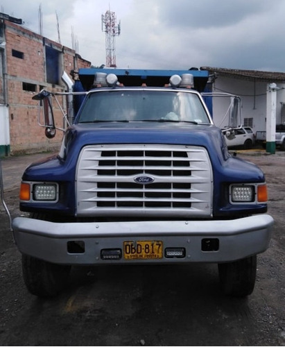 volqueta ford 7000 modelo 1996