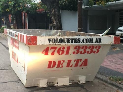 volquetes alquiler zona norte retiro escombro tierra poda $$