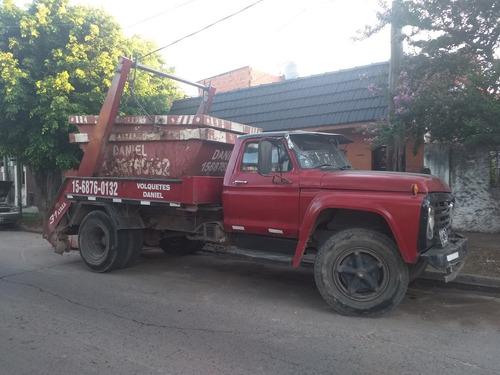 volquetes zona norte villa ballester san martin $2700