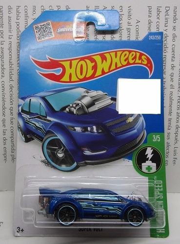 volt chevrolet coleccion hot wheels escala 1/64