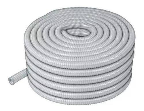 volteck-tubo flexible recubierto pvc 1/2 , rollo 50 m*47321