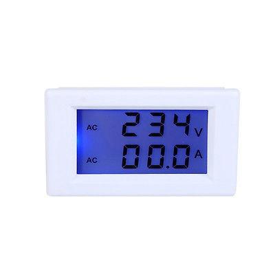 voltimetro amperimetro digital doble display ac 80-300v 100a