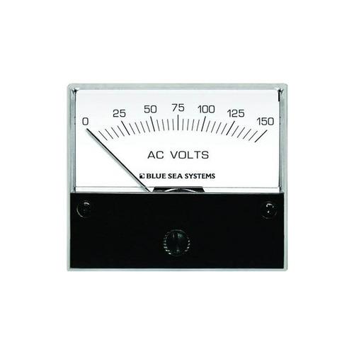 voltímetro analógico ca blue sea systems 9353 (0-150 voltios
