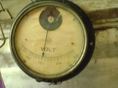 voltimetro antiguo coleccionistas decoracion venta como esta