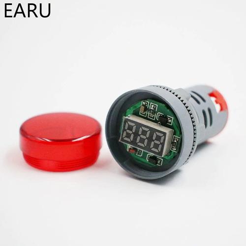 voltímetro digital ac 12-500v (tensão alternada)
