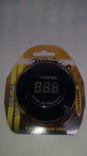 voltimetro digital led scorpion