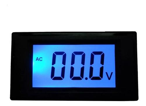 voltimetro digital para panel de medicion gralf 199.9vdc