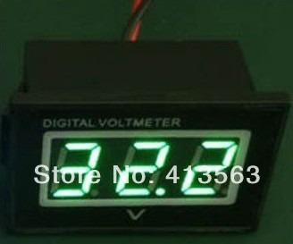 voltímetro digital prova dágua moto medidor bateria 2,5-30v