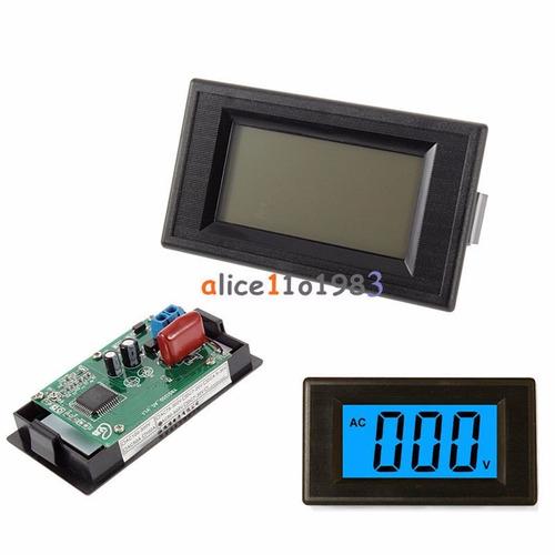 voltimetro indicador display 80 a 500vac para tablero lcd