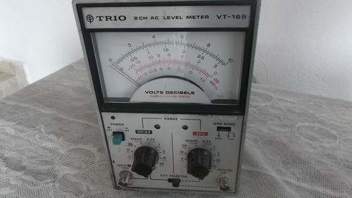 voltimetro trio vt-165  para audio