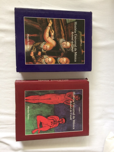 volumes 1 e 2 de história universal da música