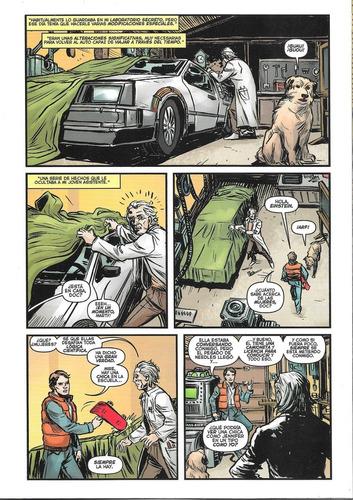 volver al futuro #4 - pop fic. - back to the future comic