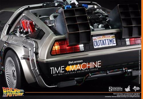 volver al futuro back to future delorean escala1:6 hot toys