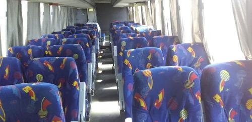 volvo 7550 modelo 2000 48 asientos wc, funcional