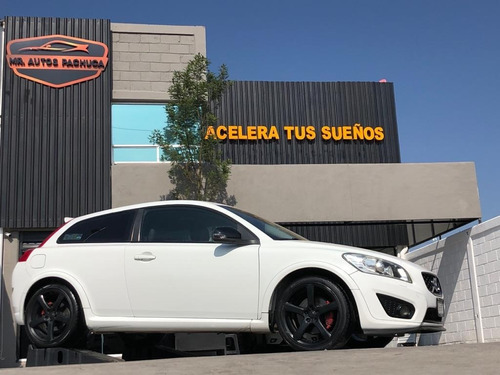 volvo c30 t5 2011 mt coupe deportivo turbo a credito blanco