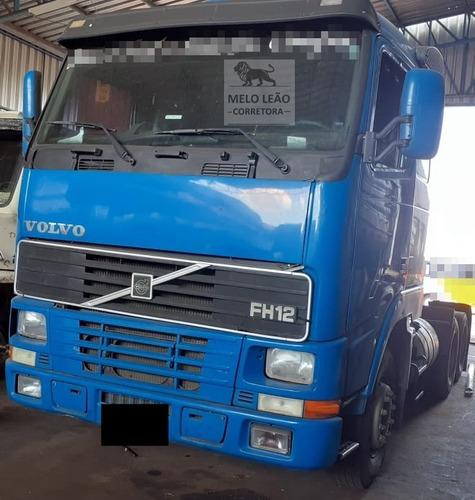 volvo fh 12 380 6x2 - 98/98 - cavalo truck, cabine leito