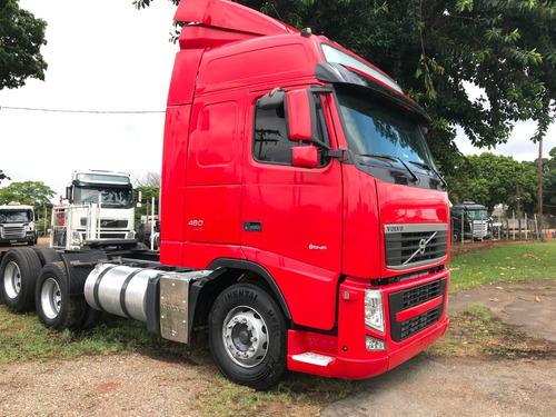 volvo fh 12 460 6x2 *2013 caminhão teto alto