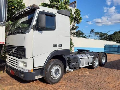 volvo fh 380 6x2 2003 - excelente caminhão